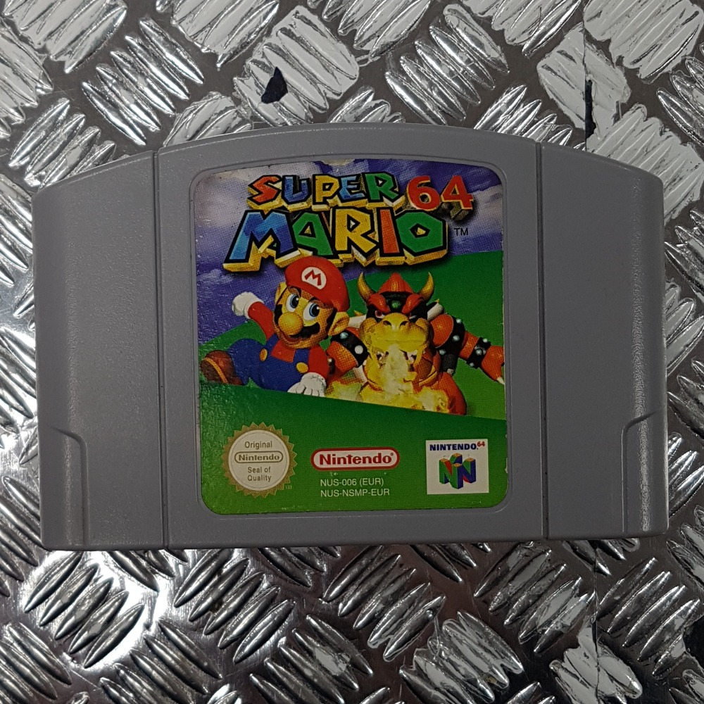 Product photo for Super Mario 64 (Nintendo 64) - Cartridge Only