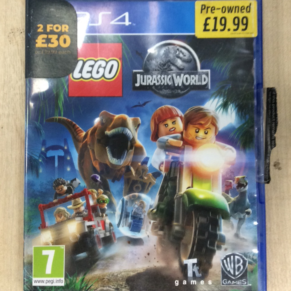 Product photo for Ps4 LEGO Jurassic world