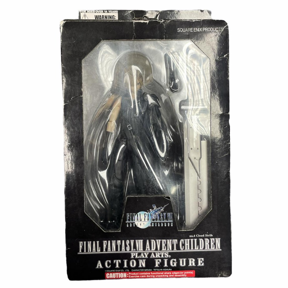 Product photo for Final Fantasy V11 Advent Children Action Figure - Cloud Strife