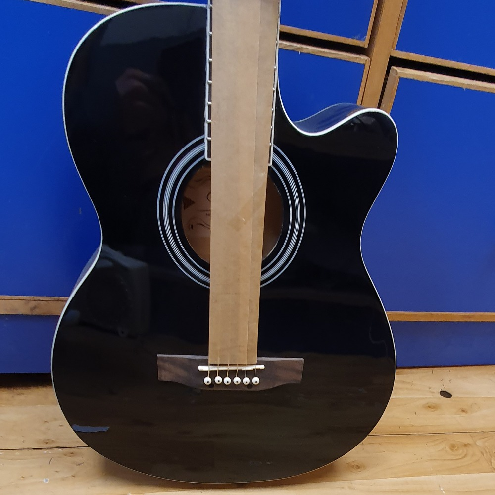 Product photo for Cutaway Acoustic - Black