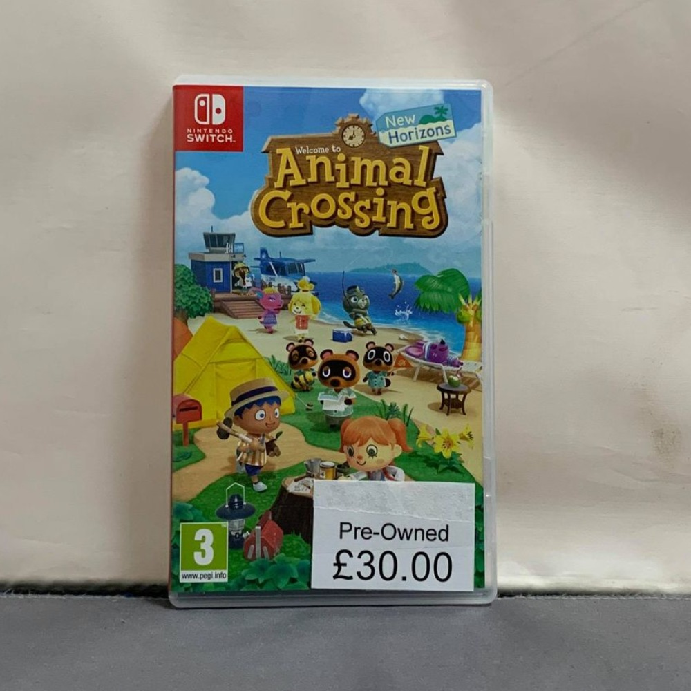 Product photo for Animal Crossing New Horizons Nintendo Switch Game