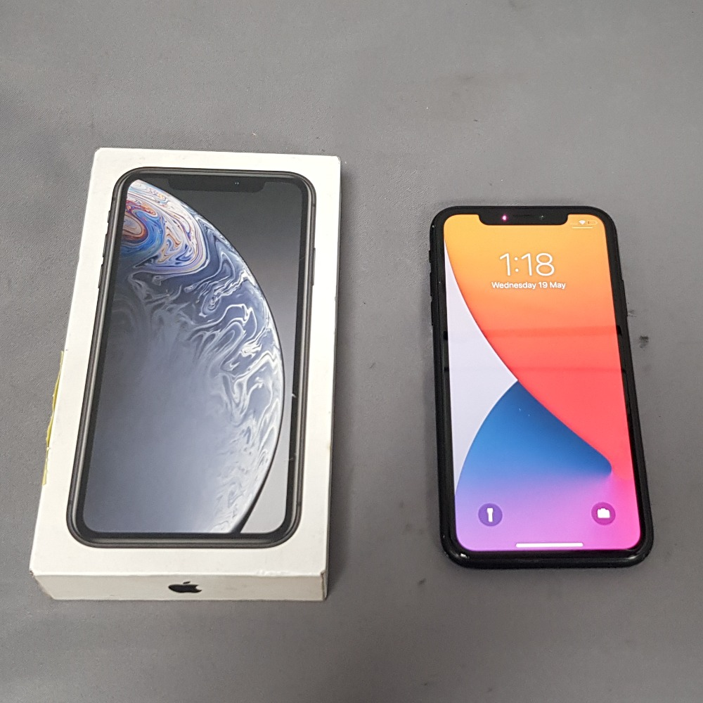 Product photo for Apple iPhone XR 64GB - Black - Open Network