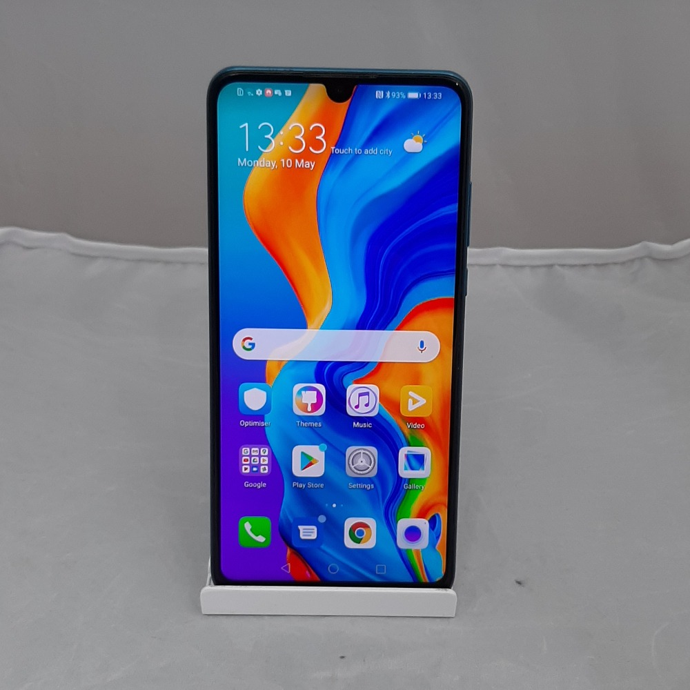 Product photo for Huawei P30 - 128GB, Unlocked, Aurora