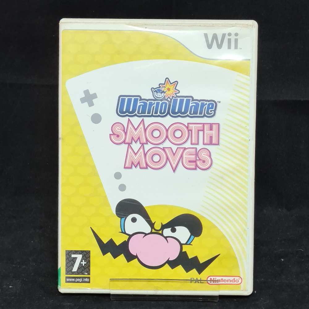 Product photo for Nintendo Wii Game Wario Ware Smooth Moves