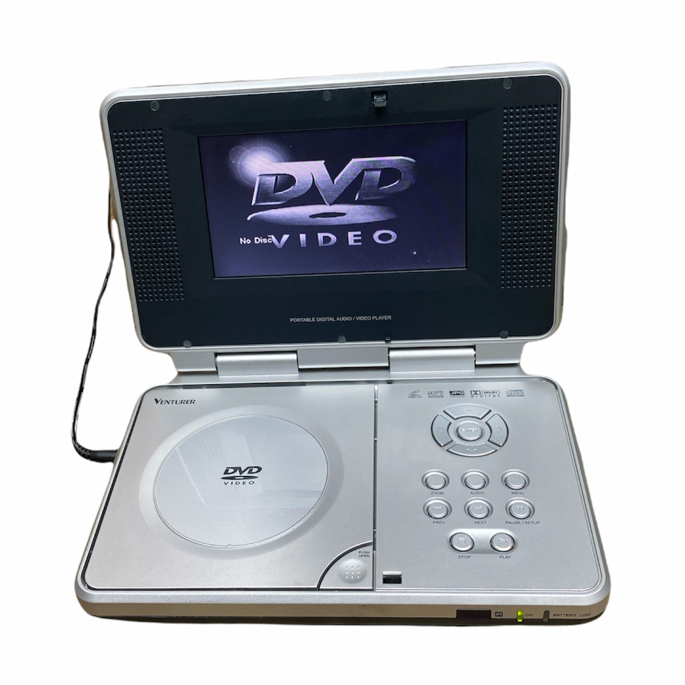 Product photo for Venturer Portable dvd player