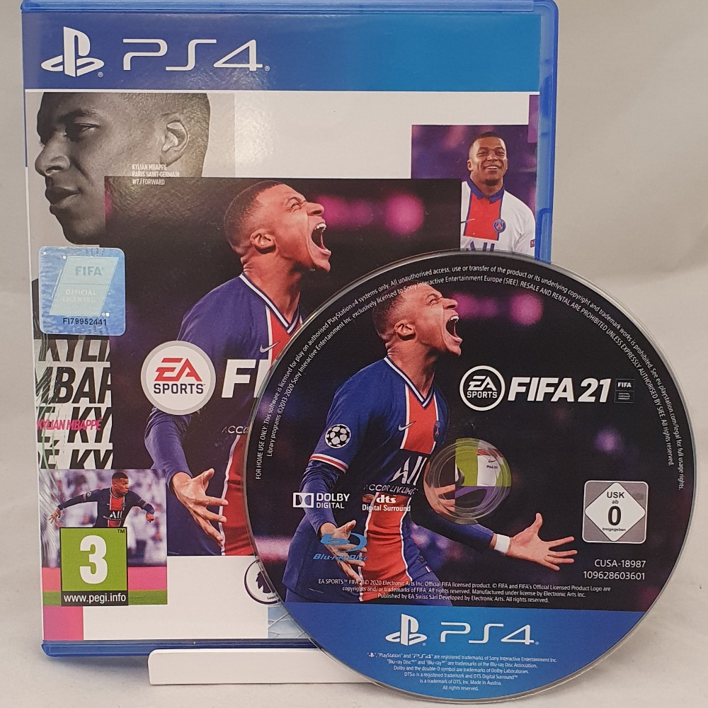 Product photo for PlayStation 4 Game Fifa 21