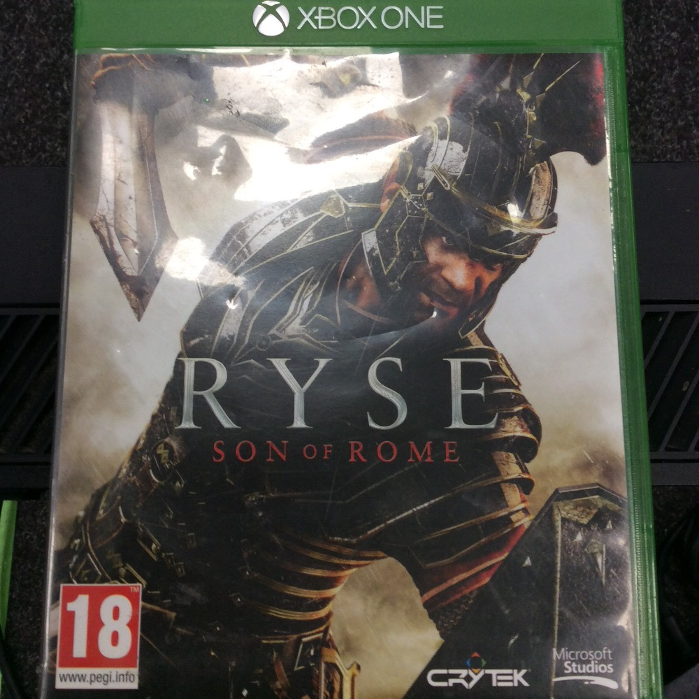 Product photo for Xbox Xbox one  ryse game