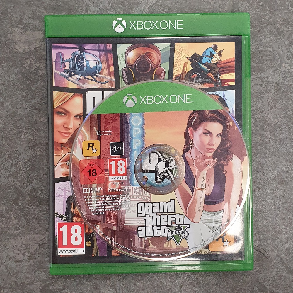 Product photo for Grand Theft Auto 5 (Xbox One)