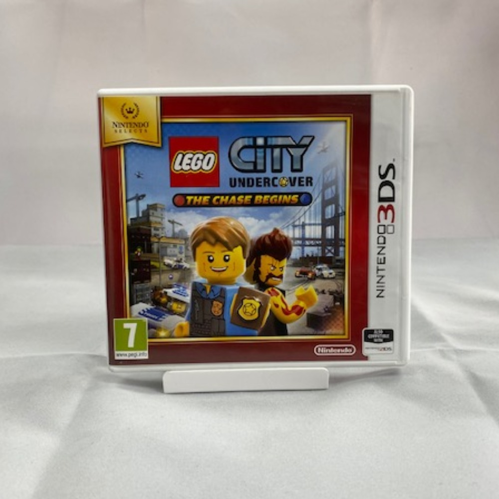 Product photo for Nintendo 3DS Lego City Undercover: The Chase Begins