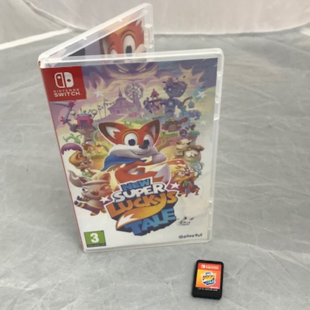Product photo for Nintendo Switch New Super Luckys Tale