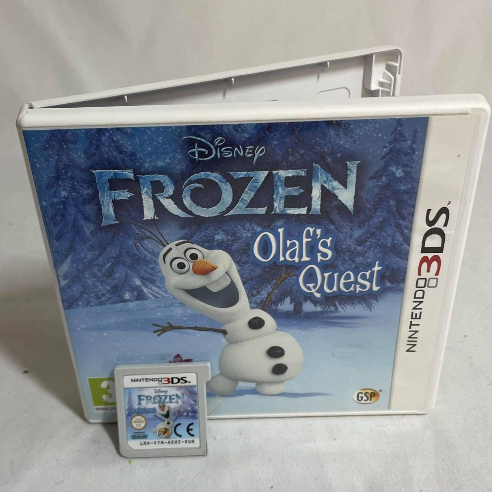 Product photo for Frozen: Olaf's Quest - 2DS Game