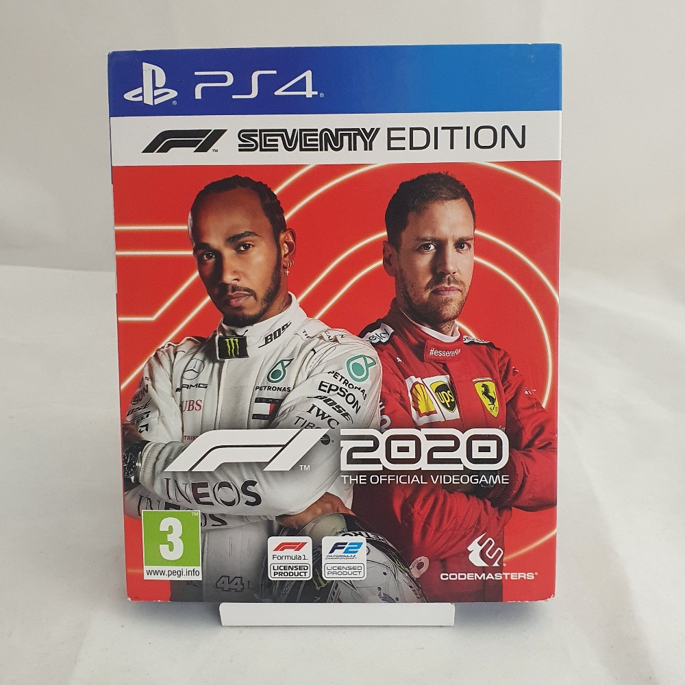 Product photo for PS4 Game F1 2020 The Official VideoGame