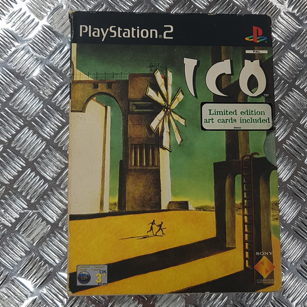 Product photo for ICO Limited Edition (PlayStation 2) - With Art Cards