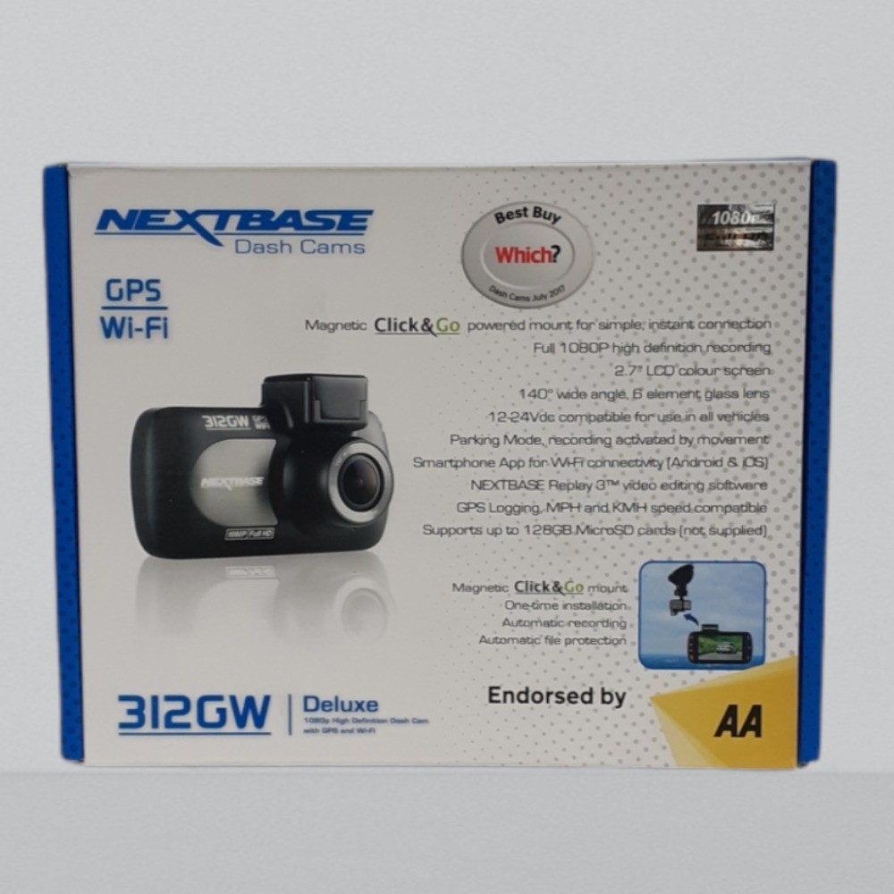 Product photo for Nextbase 312GW