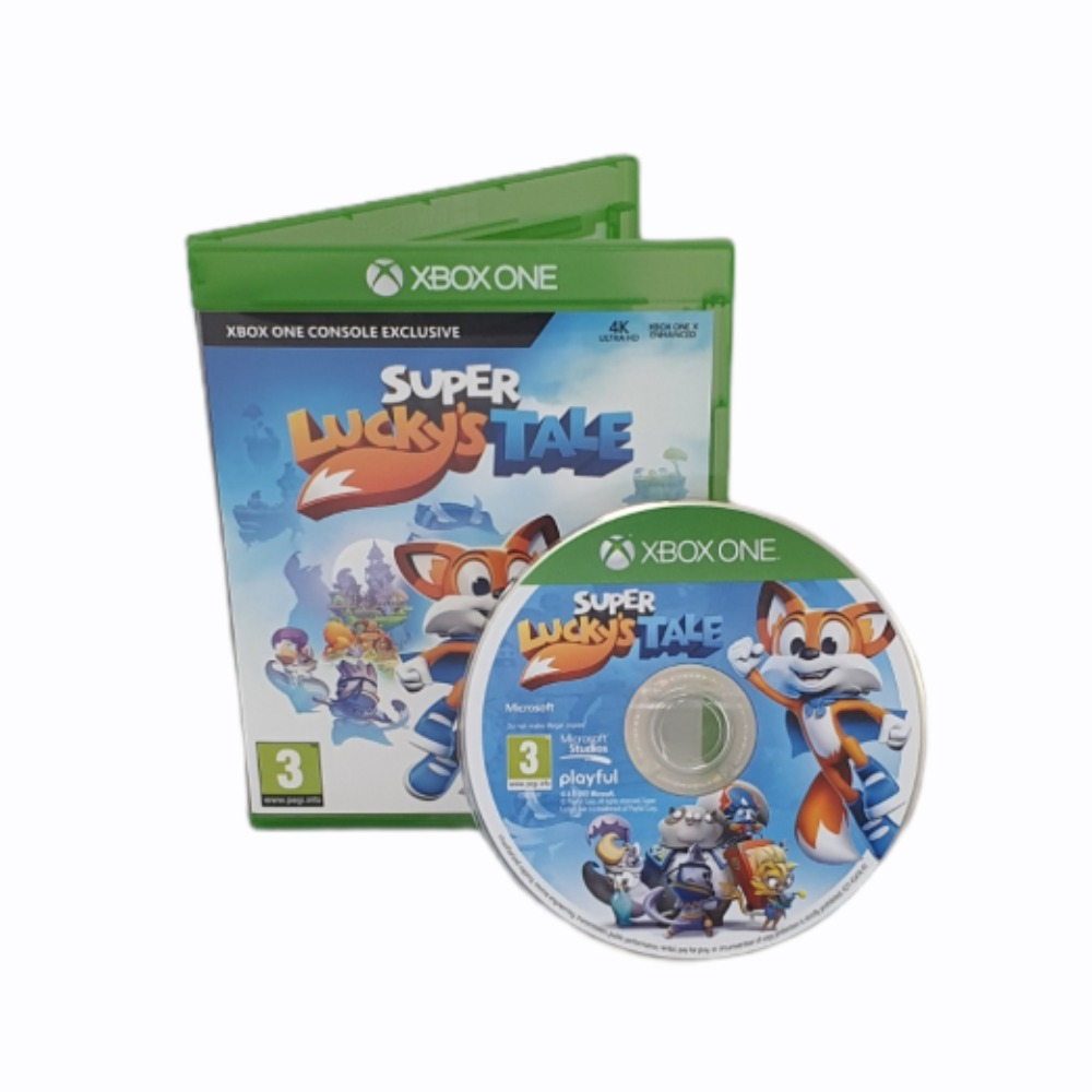 Product photo for Super Lucky's Tale - Xbox One Game