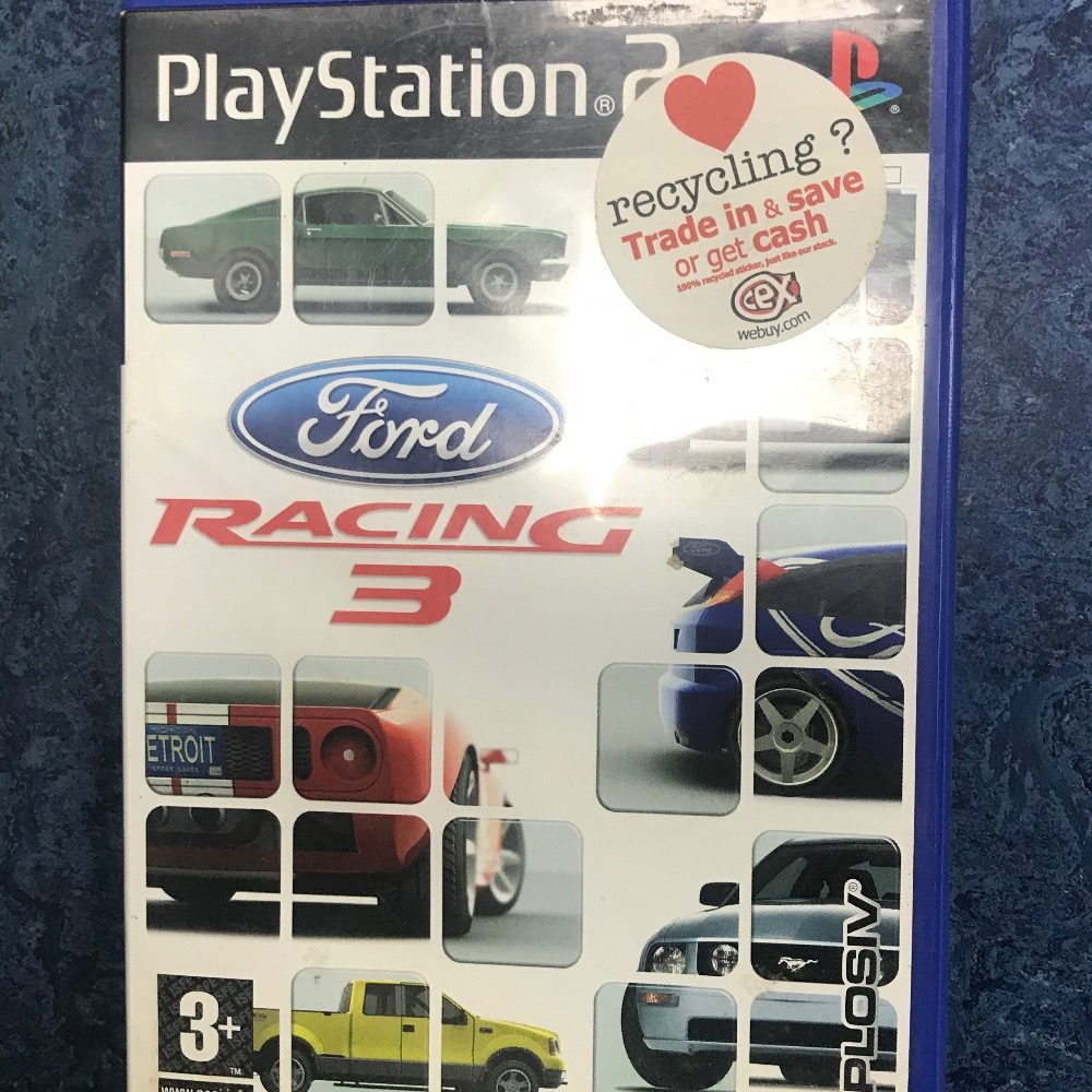 Product photo for Sony PS2 Game racing 3