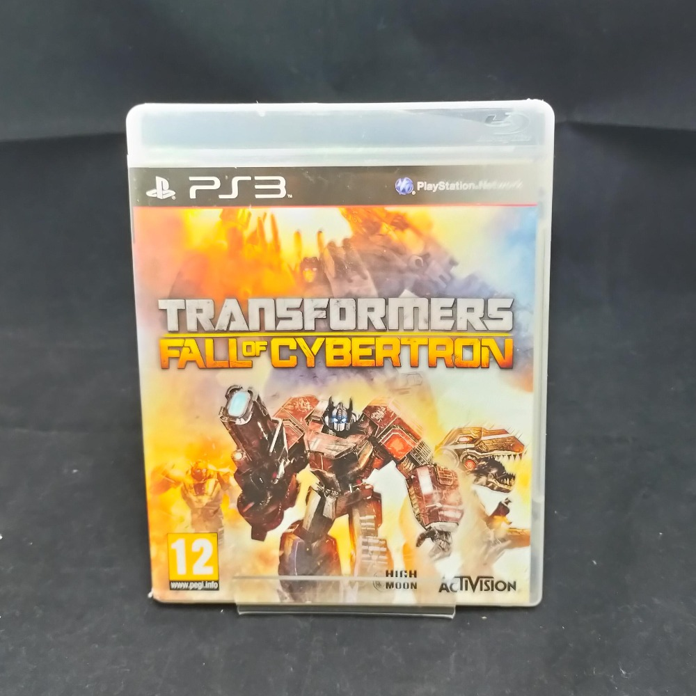 Product photo for PS3 Game Transformers