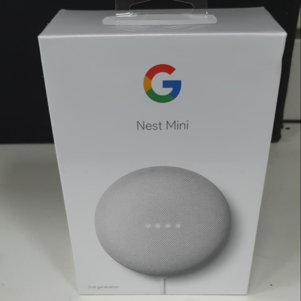 Product photo for !!Sale!! Google Nest Mini (2nd Generation) Sealed (Was £45)
