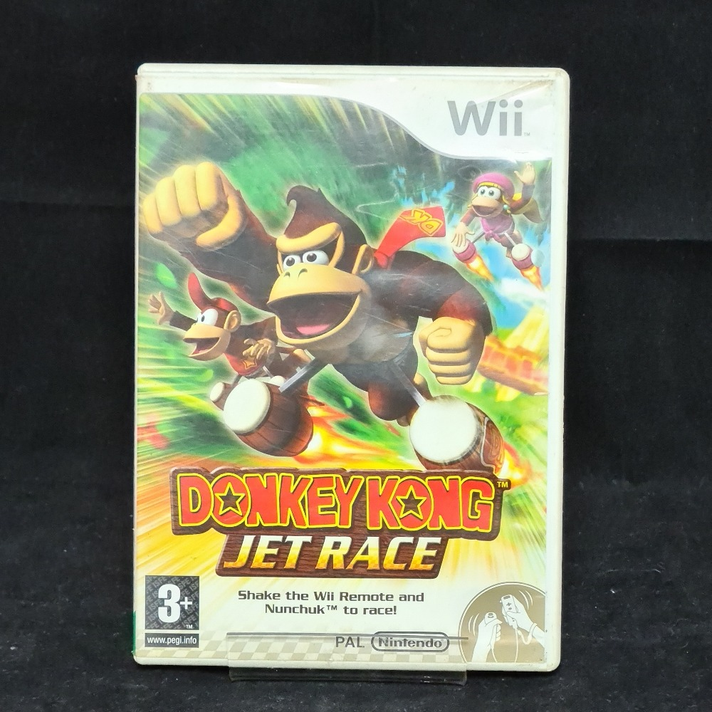 Product photo for Nintendo Wii Game Donkey Kong Jet Race