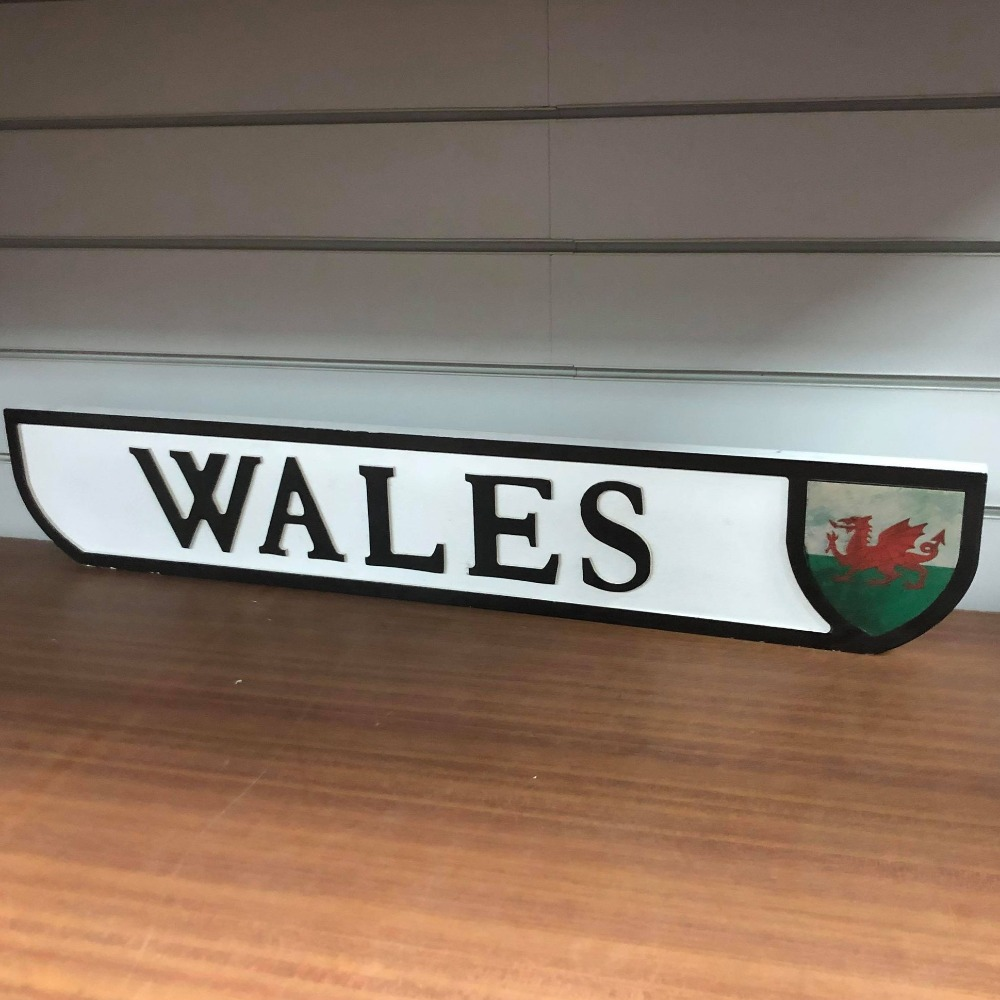 Product photo for Wales Sign
