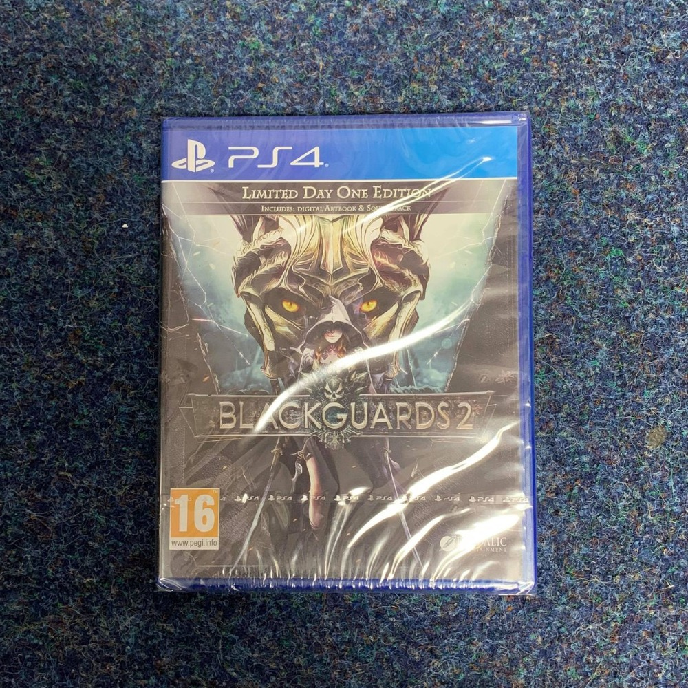 Product photo for PS4 Game Blackguards 2