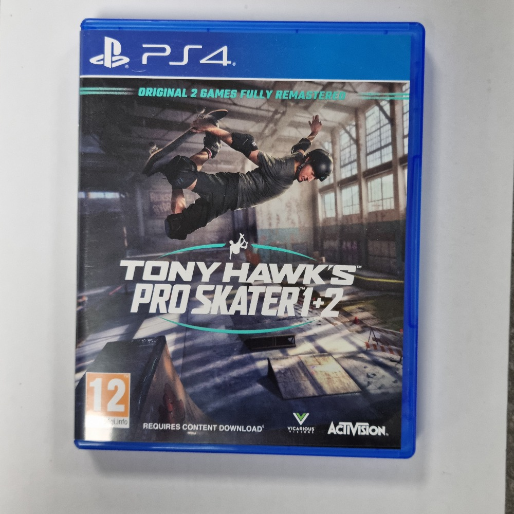 Product photo for PS4 Game Tony Hawk's Pro Skater 1+2