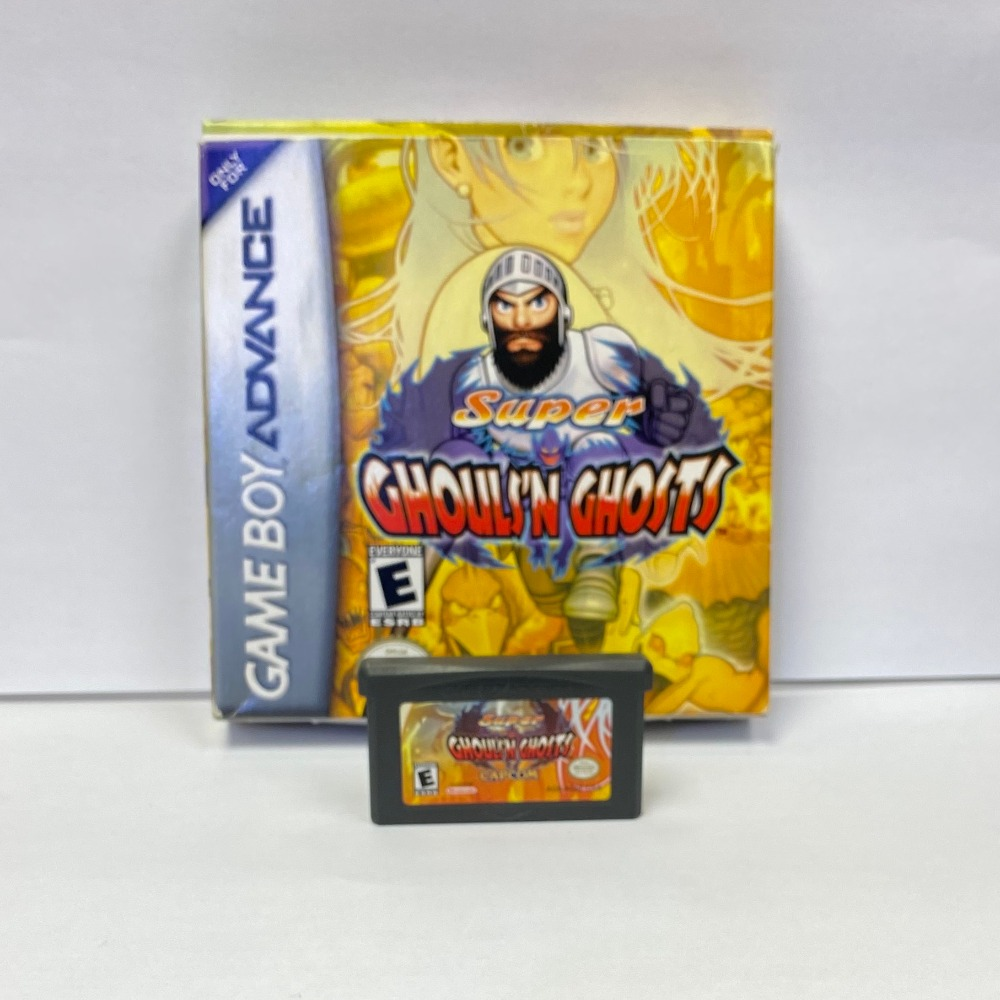 Product photo for Super Ghouls'N Ghosts (Gameboy Advance)