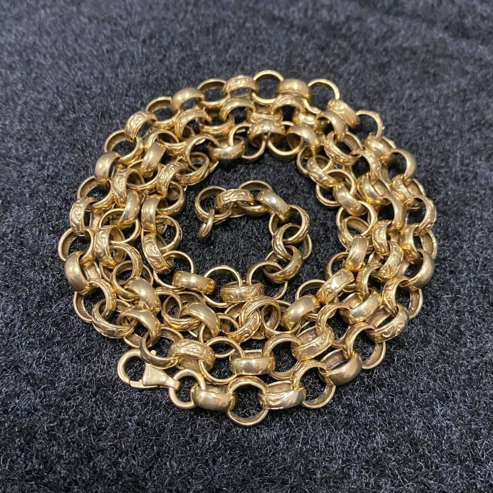 Product photo for 9ct Belcher Chain