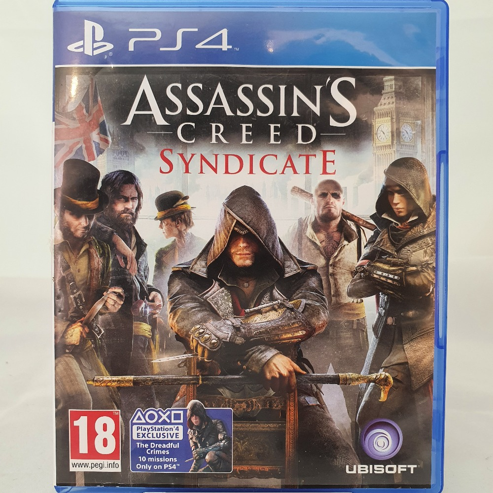 Product photo for PS4 Assassin's Creed Syndicate