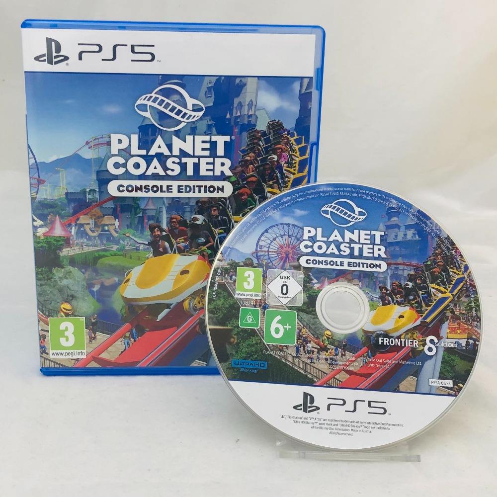 Product photo for Planet Coaster (PS5)