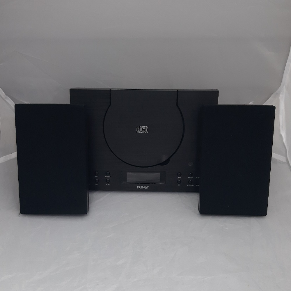 Product photo for Denver Compact CD Player with Radio