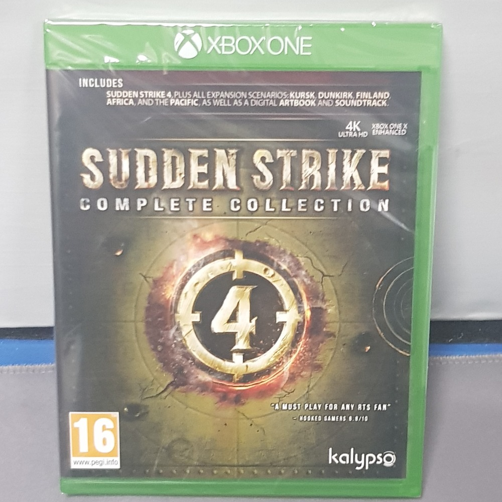 Product photo for Sudden Strike Xbox One
