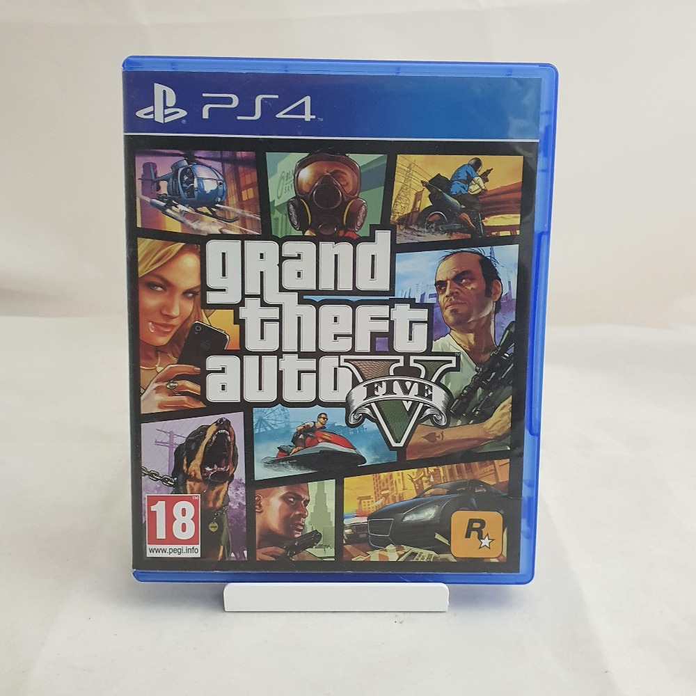 Product photo for PS4 Game Grand Theft Auto V