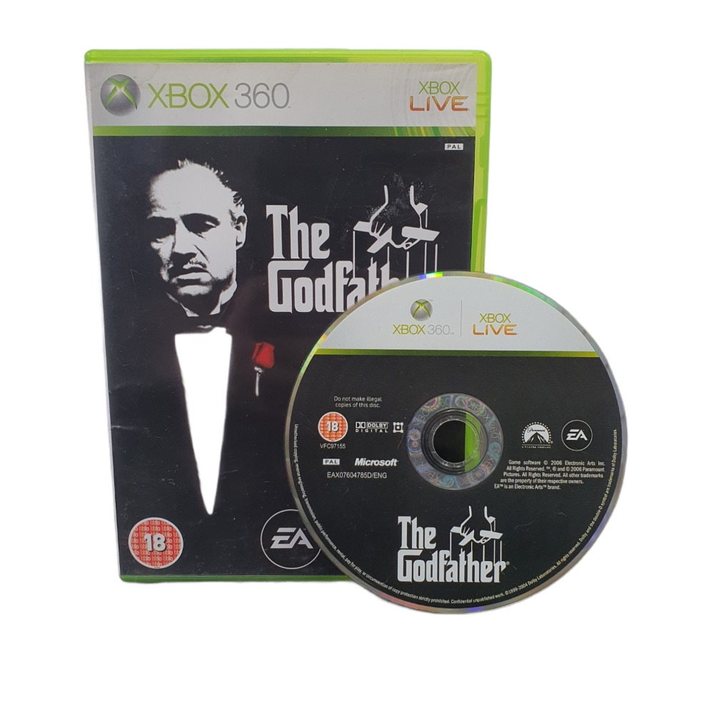 Product photo for The Godfather - Xbox 360 game