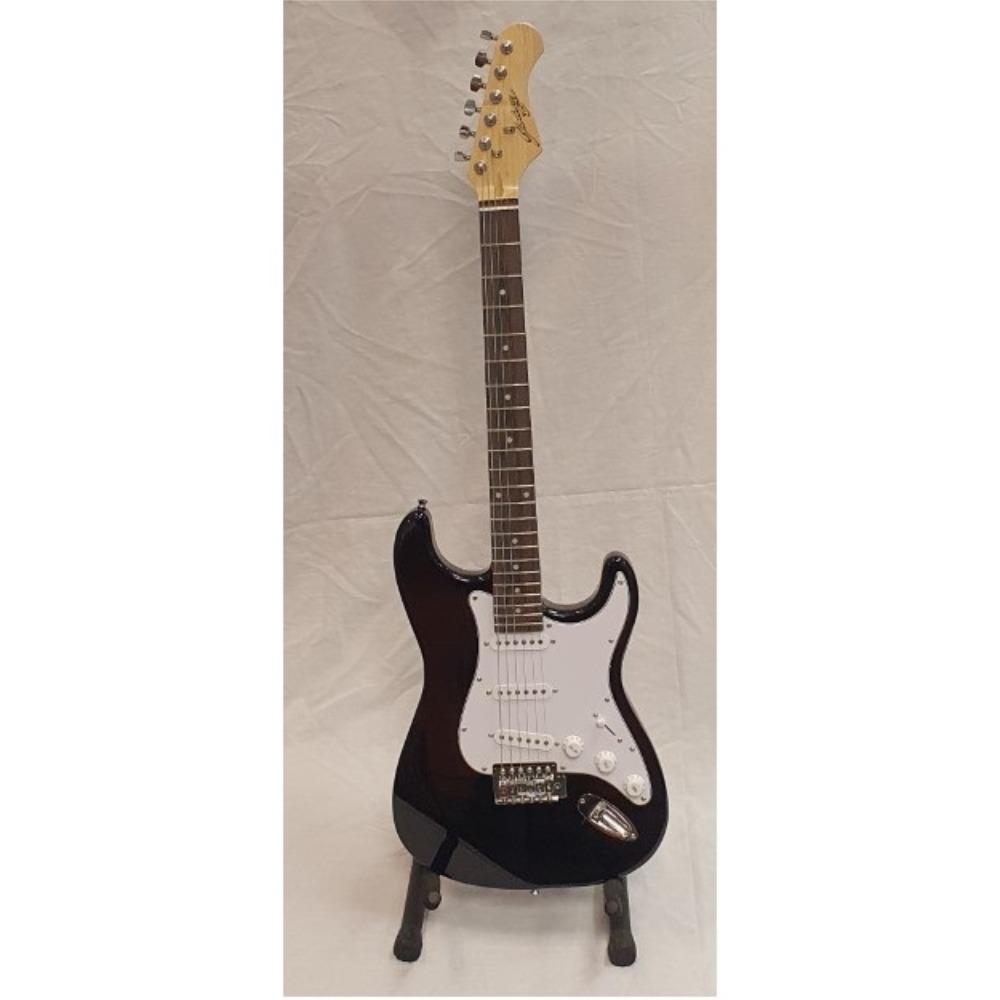 Product photo for Electric Guitar Black - Johnny Brook