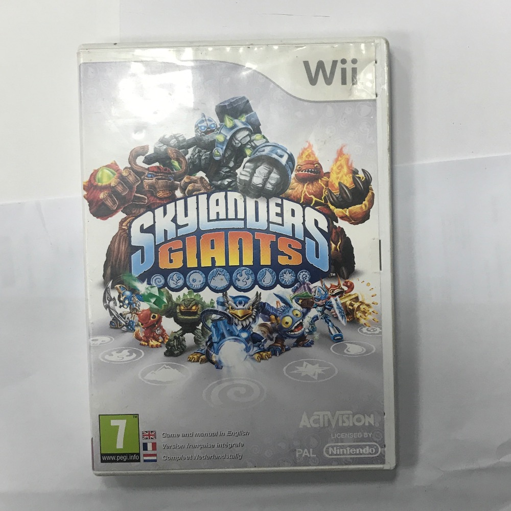 Product photo for Wii Game skylanders giants