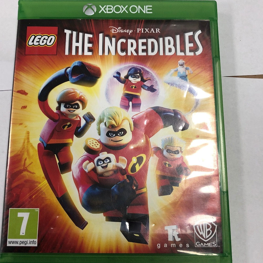 Product photo for Microsoft Xbox One Game the incredibles