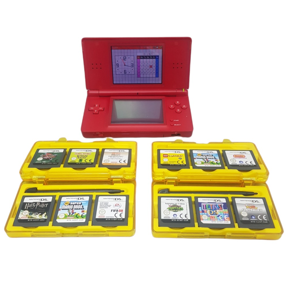 Product photo for Nintendo DS Package with 12 Games