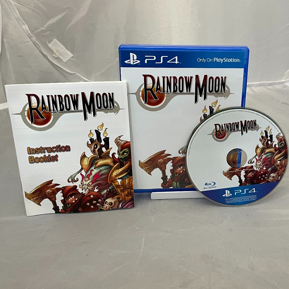 Product photo for Sony PlayStation 4 Game Rainbow Moon - Limited Run Games - NEW - PS4