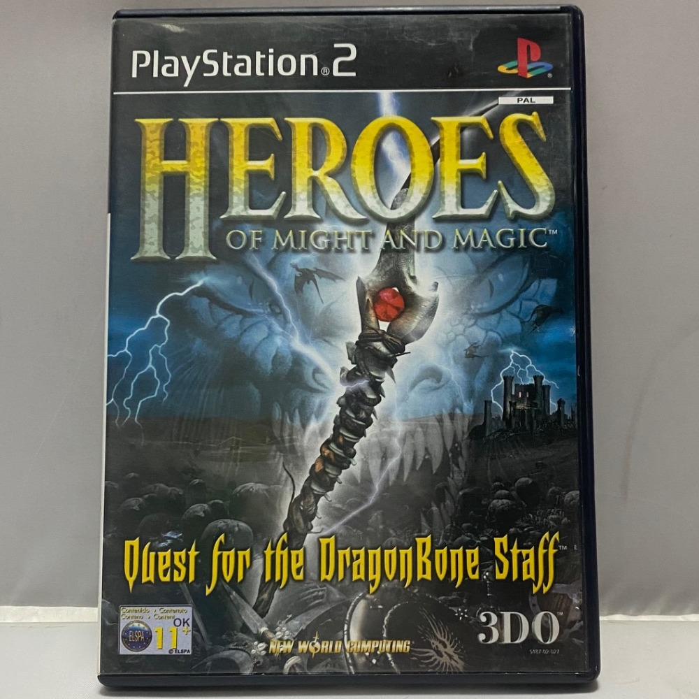 Product photo for PlayStation 2 Game Heroes Of Might & Magic PS2