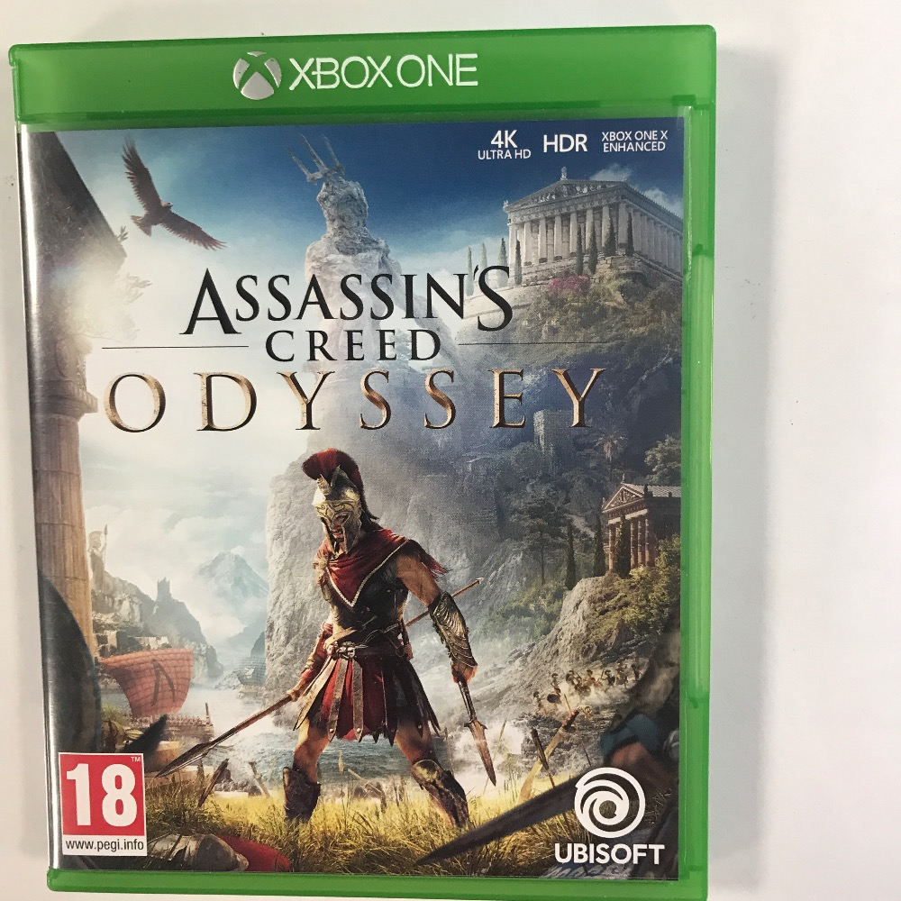 Product photo for Xbox One Game assains creed odyssey