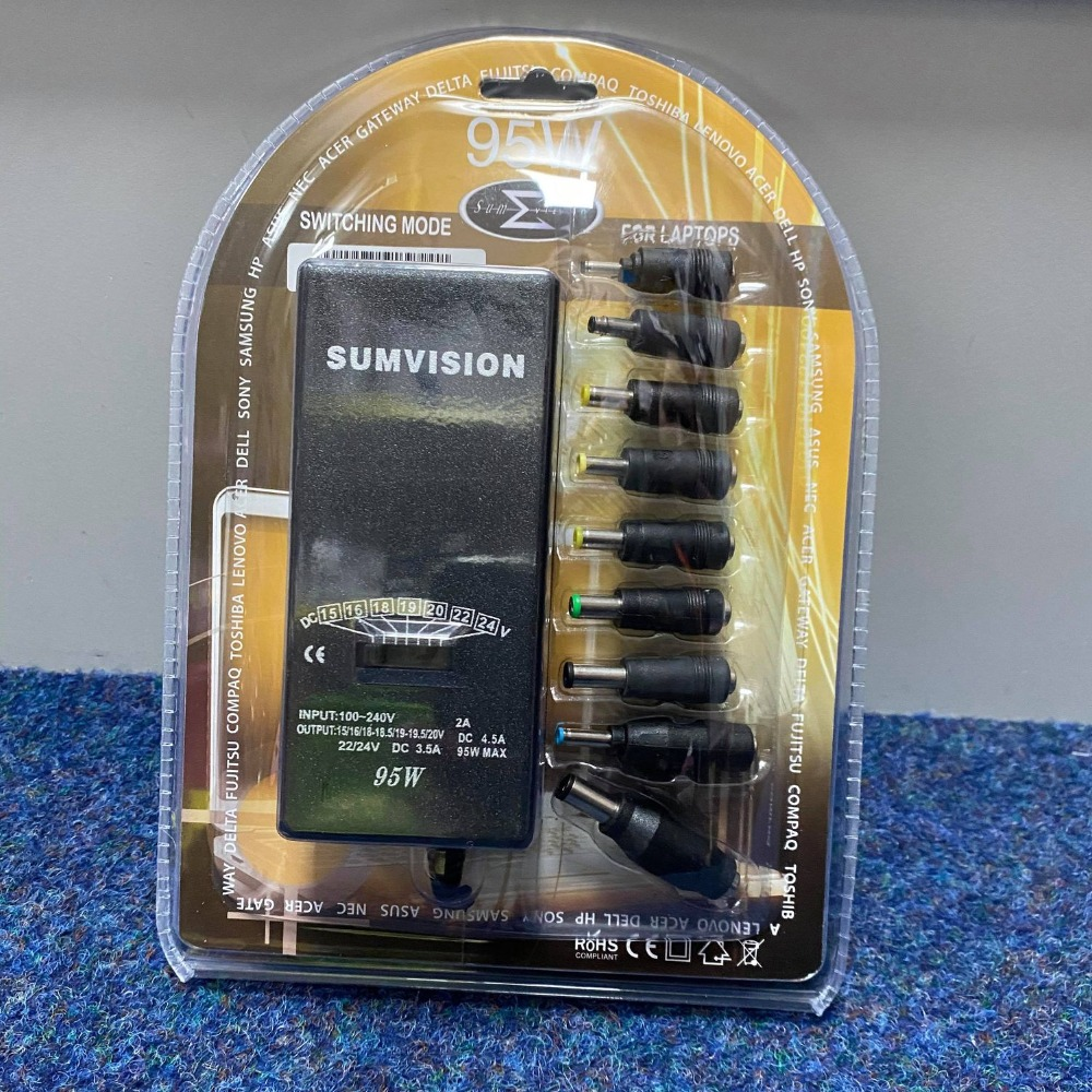Product photo for Sumvision Sumvision Universal Laptop Charger 95w