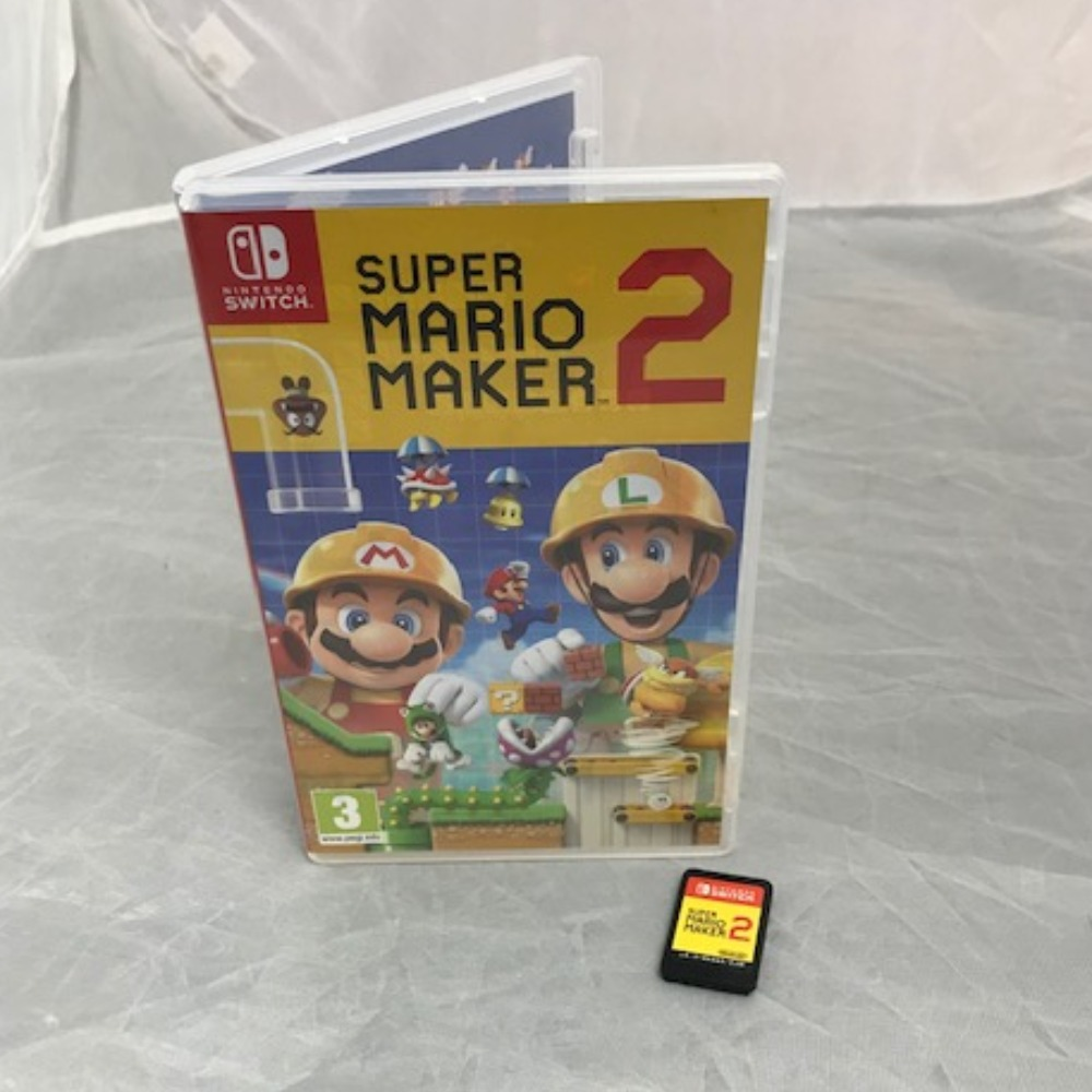 Product photo for Nintendo Switch Game Super Mario Maker 2