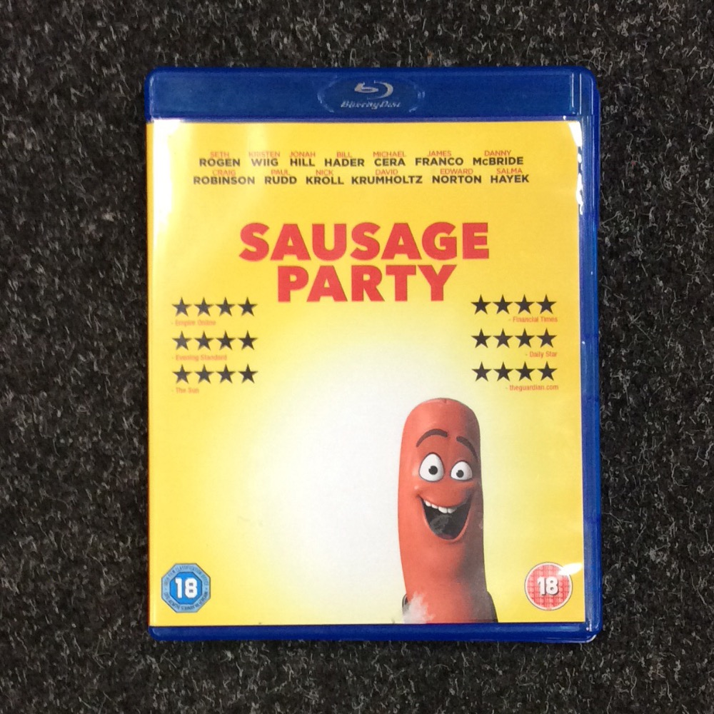 Product photo for Blu-ray Sausage Party