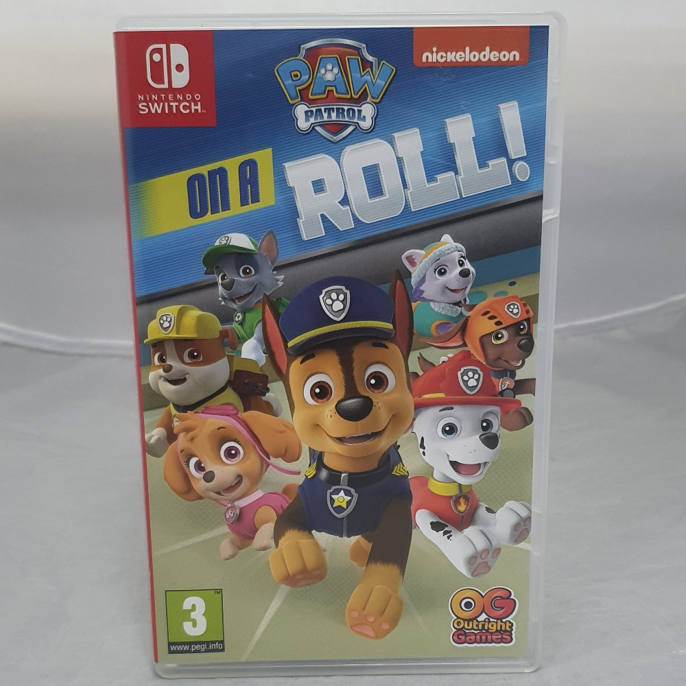 Product photo for Nintendo Switch Paw Patrol: On A Roll!