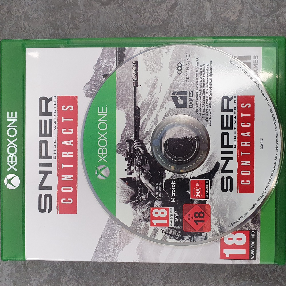 Product photo for Xbox One Game Sniper Ghost Warrior Contracts (Xbox One)