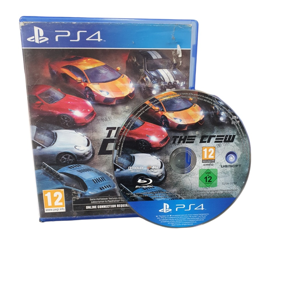 Product photo for The Crew - PLAY STATION 4 GAME