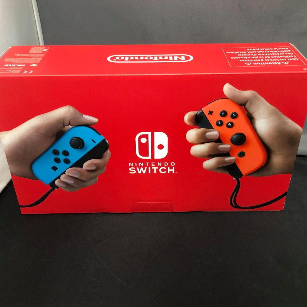 Product photo for Nintendo Switch Console (Neon Controllers)
