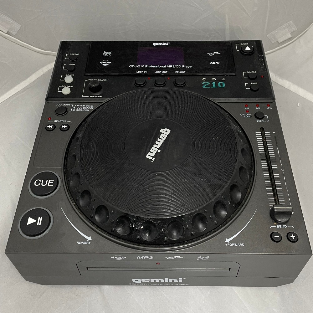 Product photo for Gemini  CDJ-210