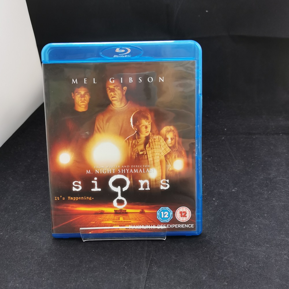 Product photo for Signs Blu-Ray